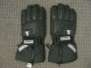 Fieldsheer Thinsulate Motorcycle Gloves-Hipora Fabric Inserts-Men's XL-VGUC