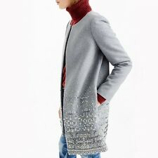 J. Crew Collection EMBELLISHED Cocoon Jacket - NWT SZ 2 $1,695
