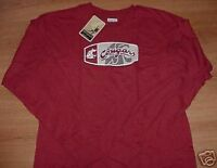 Washington State Cougars T-shirt Long Sleeve Reebok NCAA Cool Logo