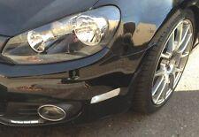 VW MK6 GOLF JETTA SPORTWAGEN CLEAR Bumper SIDE MARKER LIGHTS TURN SIGNAL PAIR