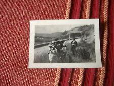 FOTOGRAFIA ANNI '20 SULLA DISCESA DI COROGLIO NAPOLI POSILLIPO