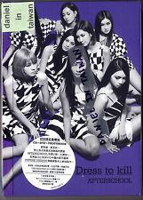 After School: Dress to kill (2014) Korea Japan / CD DVD PHOTOBOOK CARD TAIWAN