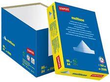 Staples 2500 Fogli/1 Box/5 RISME A3 White Paper 80 GSM + GRATIS 24H