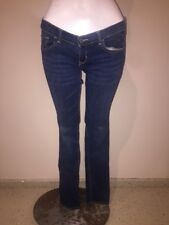 Abercrombie Fitch Denim Skinny Stretch Low Rise Long Length  Jeans Size 3