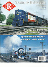 TRP  TRAINS & RAILROADS OF THE PAST MAGAZINE    3rd QUARTER, 2016    ISSUE # 7