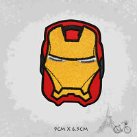 Iron Man Superhero Movie Iron On Patch Sew On Embroidered Patch Badge