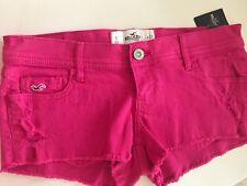 Hollister Hot Pink Jean Shorts