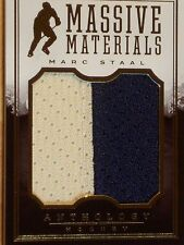 2014-15 PANINI ANTHOLOGY HOCKEY - MARC STAAL MASSIVE MATERIALS    #133/299