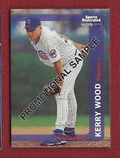 KERRY WOOD 1999 FLEER SI PROMO SAMPLE CARD  #160 CHICAGO CUBS