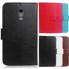 Für Smartphone PU Leder Lederhülle Tasche Cover Hülle Etui Handyhülle Book Case