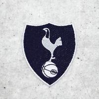 Badge Embroidered Patch FC Tottenham Hotspurs England 2018 Dark Iron On Sew On