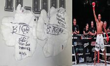 Raymond Daniels Signed Bellator Kickboxing Dynamite 2 Fight Used Wraps PSA/DNA