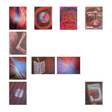 Etudes scripturales peinture acrylique sur châssis toile ARTBOOK by PN