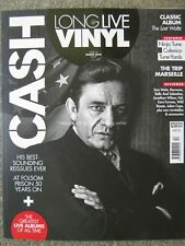 Long Live Vinyl March 2018 issue 12 Johnny Cash Calexico Ninja Tune The Band