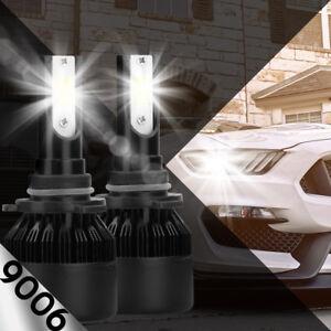 XENTEC LED HID Headlight kit 9006 White for 1992-1999 GMC K1500 Suburban