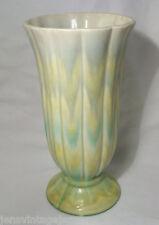 Vintage Czechoslovakian Pottery Pastel Glazed Vase