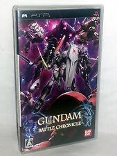 GUNDAM BATTLE CHRONICLE GIOCO USATO OTTIMO SONY PSP EDIZIONE ED JAP VBCJ 52930
