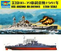 86501 Trumpeter 1/350 USS BB-39 Arizona Battleship 1941 Model Warship DIY Kit