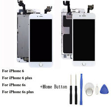 LCD Touch Screen Digitizer For iPhone 5 5s 6 6s 7 8 Plus+Home Button Camera lot