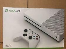 Microsoft Xbox One S 1TB White Console 4K Open Box #TB1