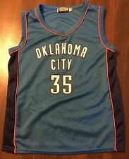 OKLAHOMA CITY NBA  # 35 BASKETBALL JERSEY  BY VICTORY LEAGUE  SIZE YOUTH 14 / 16
