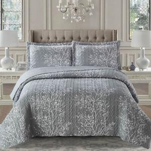 Odette Reversible Coverlets Oversized Quilt Set