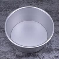 KQ_ Aluminum Alloy Bottom Chiffon Cake Cheesecake Baking Pan Mold Tray Removable