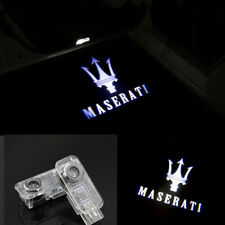 4X LED Door Light Projector Logo Ghost Lamp For MASERATI Quattroporte 2007-2009