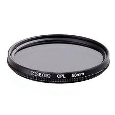 58mm Circular Polarizing CIR-PL CPL FILTER lenses for canon nikon sony lens 58mm