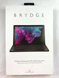 "Brydge 12.3"" Bluetooth Keyboard for Microsoft Surface Pro 4,5,6,7 Black"