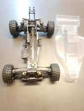Kyosho Vintage 1/10 Optima Mid New body and wing - Belt Dri lve 4wd RC buggy