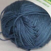 Sale New 1 Ball x50g Super Soft Bamboo Cotton Baby Hand Knitting Crochet Yarn 25