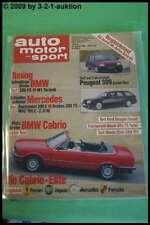 AMS Auto Motor Sport 8/86 * Brabus 300 TE DB 500 SL Jeep Wrangler Ford RS