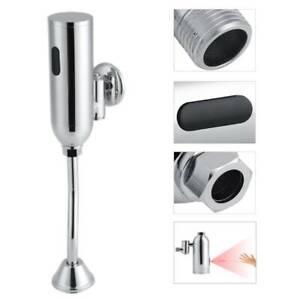 Automatische Sensor Urinal Armatur Infrarot Urinalspüler Messing + verchromt