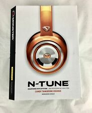 Monster NTune HD Candy On Ear Headphones Orange