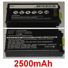 Batería 2500mAh tipo 82-127909-02 BTRY-MC31KAB02 Para Symbol MC3190G