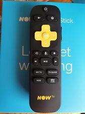 Now TV Smart Stick / Box Wi-Fi Remote Genuine Replacement NEW Voice Control 4K