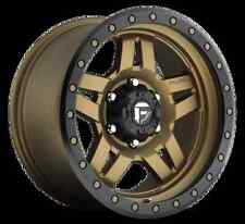 Fuel Anza 17x8.5 6x5.5 ET-6 Bronze Wheels (Set of 4)