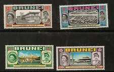 BRUNEI SG192/5  1972 ROYAL VISIT MNH