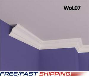 10X10cm XPS Polystyrene Lightweight Wall Coving Cornice Finest Quality Nextday