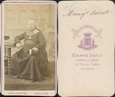 Monseigneur Surat, Commune CDV vintage albumen, archidiacre de Nôtre-Dame de Par