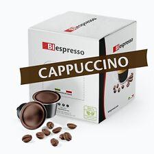 50 Capsule compatibili DOLCE GUSTO Nescafè*, gusto Cappuccino, Caffè Biespresso