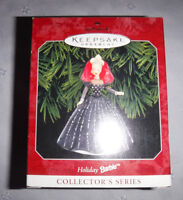 Hallmark Keepsake Ornament Barbie Christmas Holiday Barbie 1998 Vintage
