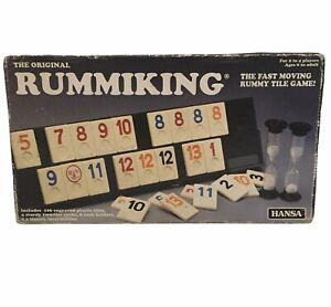 Vintage Hansa The Original Rummiking Tile Game - COMPLETE  Age 8+