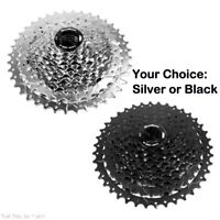 SunRace CSM990 11-40T 9-Speed Silver / Black MTB Cassette fit Shimano SRAM MS990