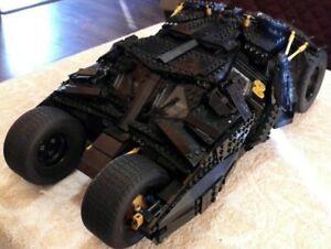 LEGO The Tumbler 76023 and 3 mini figures in good condition. Read description.