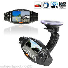 1080P HD 2.7'' Dual Lens Dash Cam Car Video Recorder DVR Camera GPS Logger R310