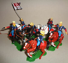 7th CAVALRY American Civil War DSG Argentina Plastic toy Soldiers set Britains