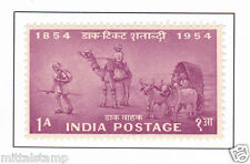 PHILA312 INDIA 1954 SINGLE MINT STAMP OF POSTAGE STAMP CENTENARY 1 ANNA MNH
