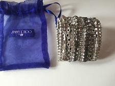 Jimmy Choo for H&M breites Armband mit Glitzersteinen / bracelet